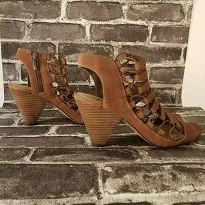 Vince Camuto Eliaz brown sandal women's size 8.5
